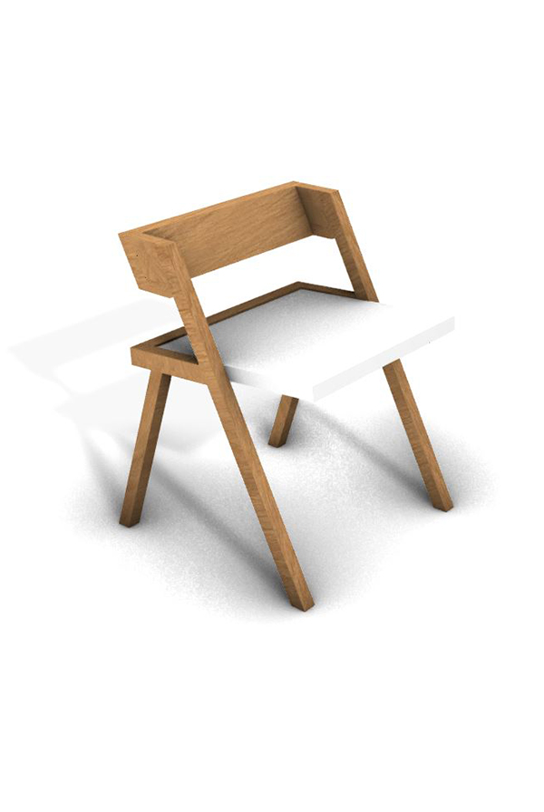 Chaise STICK 02LS design, made in france
